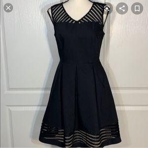 Charming Charlie Sleeveless V neck dress